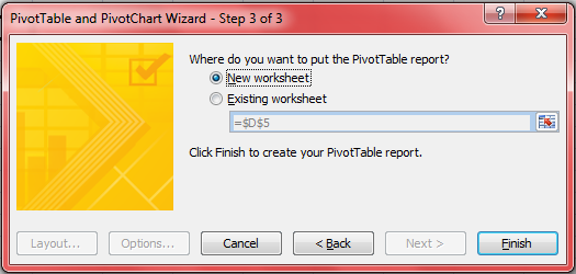 Consolidating Ranges With Pivot Tables Excel With Excel Master