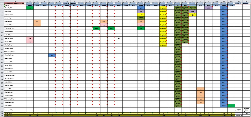 ... … Total £££ per Month … All in One! | Excel with Excel Master