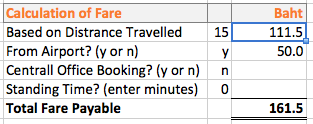 taxi fare calculator wordpress