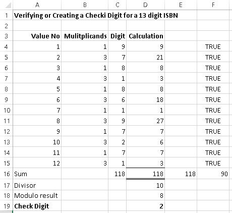 Check Digit | Excel with Excel Master