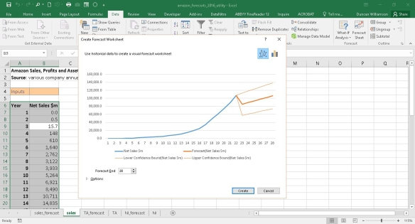 Forecasting in Excel 2016 | Excel with Excel Master
