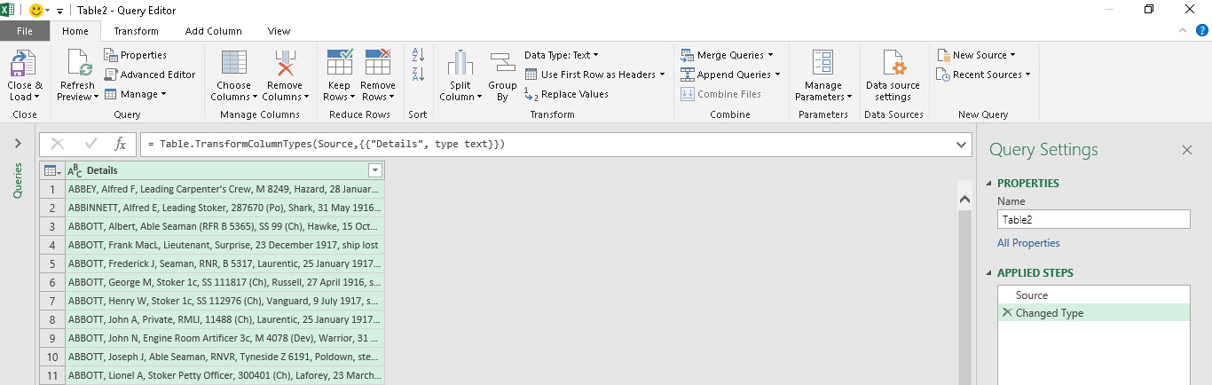 Split Columns with Get & Transform | Excel with Excel Master